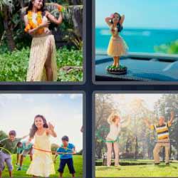 4 fotos 1 palabra hula hoop