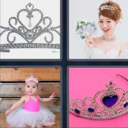 4 fotos 1 palabra coronas