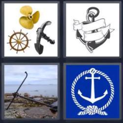 4 fotos 1 palabra partes de un barco