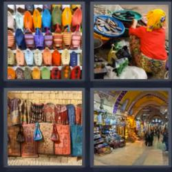 4 fotos 1 palabra bazar