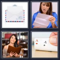 4 fotos 1 palabra sobre correo ases