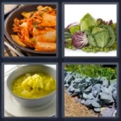4 fotos 1 palabra comida guiso verduras