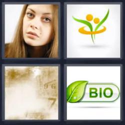 4 fotos 1 palabra bio