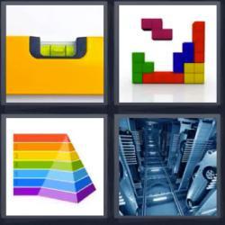 4 fotos 1 palabra tétris nivel