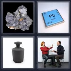 4 fotos 1 palabra Pb peso