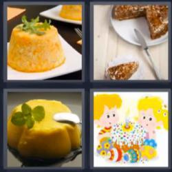 4 fotos 1 palabra arroz