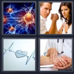 4 fotos 1 palabra átomo pulso