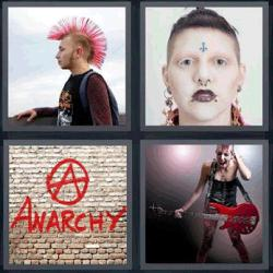 4 fotos 1 palabra anarchy