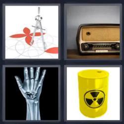 4 fotos 1 palabra radiografía mano
