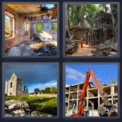 4 fotos 1 palabra ruinas