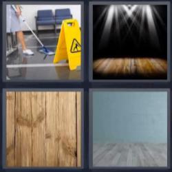 4 fotos 1 palabra limpiadora