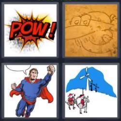 4 fotos 1 palabra pow