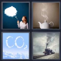 4 fotos 1 palabra tetera