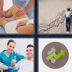 4 fotos 1 palabra fisioterapeuta