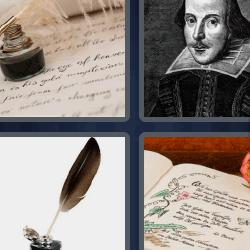 4 fotos 1 palabra escritor