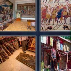 4 fotos 1 palabra alfombras
